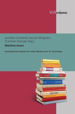 Mertens lesen von Costard,  Monika, Klingner,  Jacob, Stange,  Carmen
