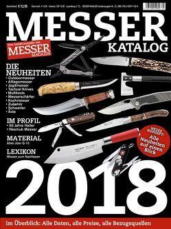 MESSER KATALOG 2018 von Wieland,  Hans Joachim