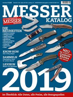 MESSER KATALOG 2019 von Wieland,  Hans Joachim