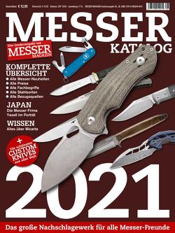 MESSER KATALOG 2021 von Wieland,  Hans Joachim