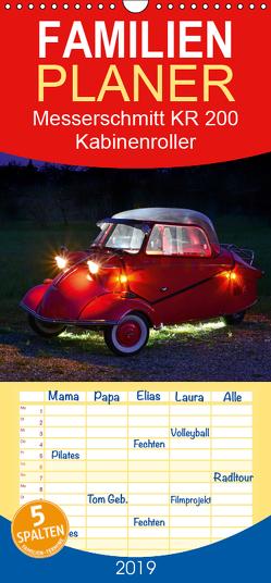 Messerschmitt KR 200 Kabinenroller – Familienplaner hoch (Wandkalender 2019 , 21 cm x 45 cm, hoch) von Laue,  Ingo