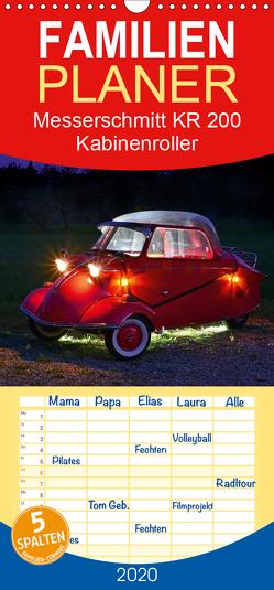 Messerschmitt KR 200 Kabinenroller – Familienplaner hoch (Wandkalender 2020 , 21 cm x 45 cm, hoch) von Laue,  Ingo