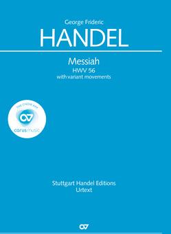 Messiah (Klavierauszug deutsch) von Händel,  Georg Friedrich