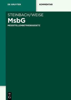 Messstellenbetriebsgesetz von Steinbach,  Armin, Weise,  Michael