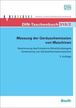 Messung der Geräuschemission von Maschinen