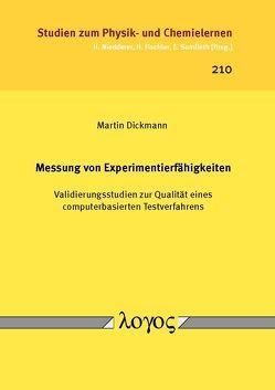Messung von Experimentierfähigkeiten von Dickmann,  Martin