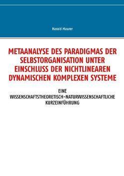 Metaanalyse des Paradigmas der Selbstorganisation unter Einschluss der nichtlinearen dynamischen komplexen Systeme von Maurer,  Harald