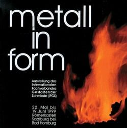 Metall in form von Elgass,  Peter