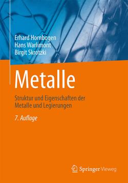 Metalle von Hornbogen,  Erhard, Skrotzki,  Birgit, Warlimont,  Hans