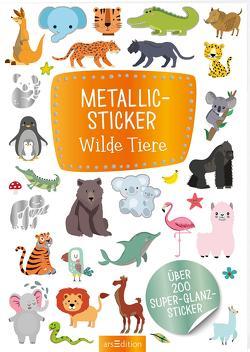 Metallic-Sticker Wilde Tiere