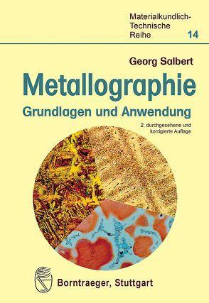 Metallographie von Salbert,  Georg
