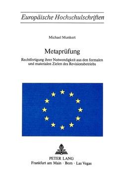 Metaprüfung von Munkert,  Michael