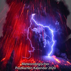 Meteorologischer Postkarten-Kalender 2020