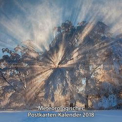Meteorologischer Postkarten-Kalender 2018
