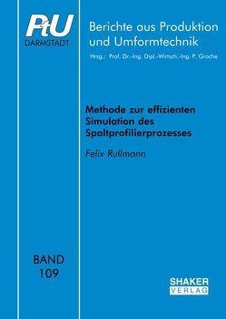 Methode zur effizienten Simulation des Spaltprofilierprozesses von Rullmann,  Felix