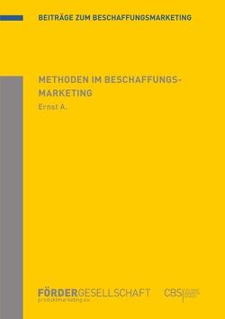 Methoden im Beschaffungsmarketing von Ernst,  Achim