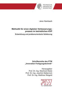 Methodik für einen digitalen Verbesserungsprozess im betrieblichen KVP von Hambach,  Jens