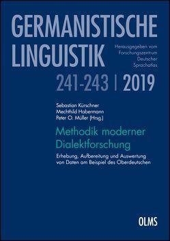 Methodik moderner Dialektforschung von Habermann,  Mechthild, Kürschner,  Sebastian, Müller,  Peter O