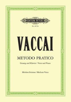 Metodo pratico di Canto Italiano von Vaccai,  Nicola