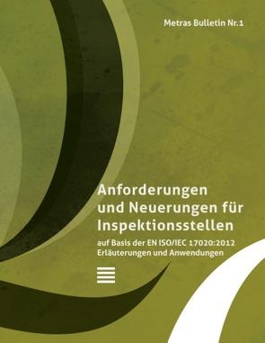 Metras Bulletin 1 von Qualitätsmamagement mit Qualität,  METRAS, Weninger,  Werner