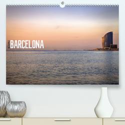 Metropole Barcelona (Premium, hochwertiger DIN A2 Wandkalender 2021, Kunstdruck in Hochglanz) von Meutzner,  Dirk