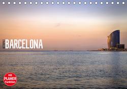 Metropole Barcelona (Tischkalender 2021 DIN A5 quer) von Meutzner,  Dirk
