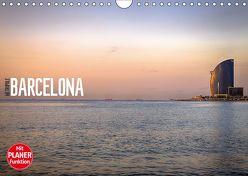 Metropole Barcelona (Wandkalender 2019 DIN A4 quer)