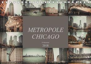 Metropole Chicago (Tischkalender 2018 DIN A5 quer) von Meutzner,  Dirk