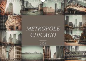 Metropole Chicago (Wandkalender 2020 DIN A3 quer) von Meutzner,  Dirk