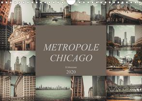 Metropole Chicago (Wandkalender 2020 DIN A4 quer) von Meutzner,  Dirk