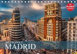 Metropole Madrid (Tischkalender 2018 DIN A5 quer) von Meutzner,  Dirk