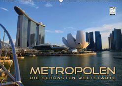 METROPOLEN – die schönsten Weltstädte (Wandkalender 2019 DIN A2 quer) von Bleicher,  Renate
