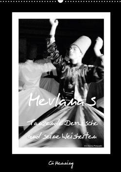 Mevlana's tanzende Derwische und seine Weisheiten (Wandkalender 2018 DIN A2 hoch) von HENNING,  Cü