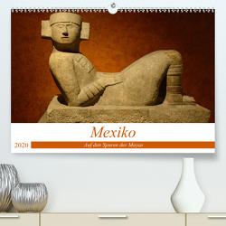 Mexiko. Auf den Spuren der Mayas (Premium, hochwertiger DIN A2 Wandkalender 2020, Kunstdruck in Hochglanz) von Prediger,  Klaus, Prediger,  Rosemarie