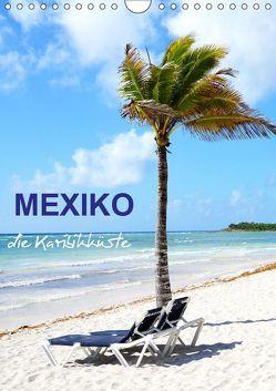 Mexiko – die Karibikküste (Wandkalender 2019 DIN A4 hoch) von Schwarze,  Nina