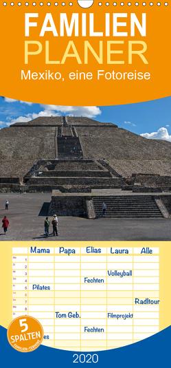 Mexiko, eine Fotoreise – Familienplaner hoch (Wandkalender 2020 , 21 cm x 45 cm, hoch) von Seifert,  Birgit