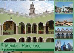 Mexiko – Rundreise (Wandkalender 2019 DIN A2 quer) von Prediger,  Klaus, Prediger,  Rosemarie