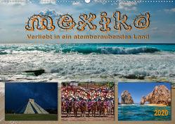 Mexiko – verliebt in ein atemberaubendes Land (Wandkalender 2020 DIN A2 quer) von Roder,  Peter