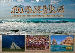 Mexiko – verliebt in ein atemberaubendes Land (Wandkalender 2020 DIN A3 quer) von Roder,  Peter