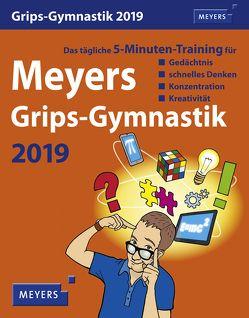 Meyers Grips-Gymnastik – Kalender 2019 von Harenberg, Stein,  Ingo