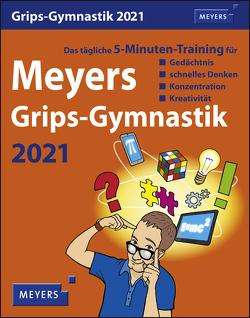 Meyers Grips-Gymnastik Kalender 2021 von Harenberg, Stein,  Ingo