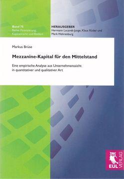 Mezzanine-Kapital für den Mittelstand von Brüse,  Markus