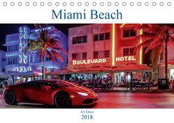 Miami Beach Art Deco (Tischkalender 2018 DIN A5 quer) von Robert,  Boris
