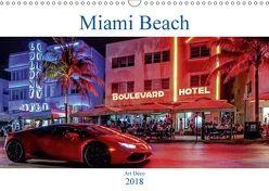 Miami Beach Art Deco (Wandkalender 2018 DIN A3 quer) von Robert,  Boris