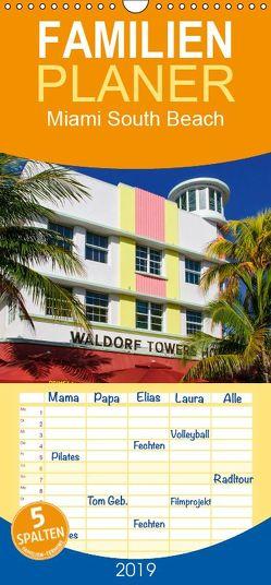 Miami South Beach – Familienplaner hoch (Wandkalender 2019 , 21 cm x 45 cm, hoch) von Schleibinger www.js-reisefotografie.de,  Judith