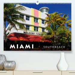 Miami South Beach (Premium, hochwertiger DIN A2 Wandkalender 2021, Kunstdruck in Hochglanz) von Schleibinger www.js-reisefotografie.de,  Judith