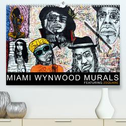 Miami Wynwood Murals – Featuring 2Square (Premium, hochwertiger DIN A2 Wandkalender 2021, Kunstdruck in Hochglanz) von Morariu,  Sergio