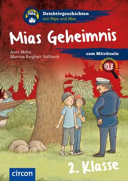 Mias Geheimnis von Burghart-Vollhardt,  Martina, Mohn,  Anni