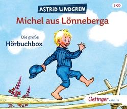 Michel aus Lönneberga. Die große Hörbuchbox (3CD) von Berg,  Björn, Lindgren,  Astrid, Michel-Combo, Peters,  Karl Kurt, Steffen,  Manfred