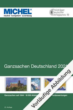 MICHEL Ganzsachen Deutschland 2021/2022 von MICHEL-Redaktion